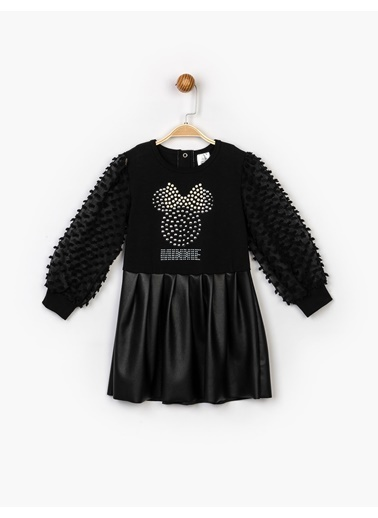 Minnie Mouse  Elbise 16150 Siyah